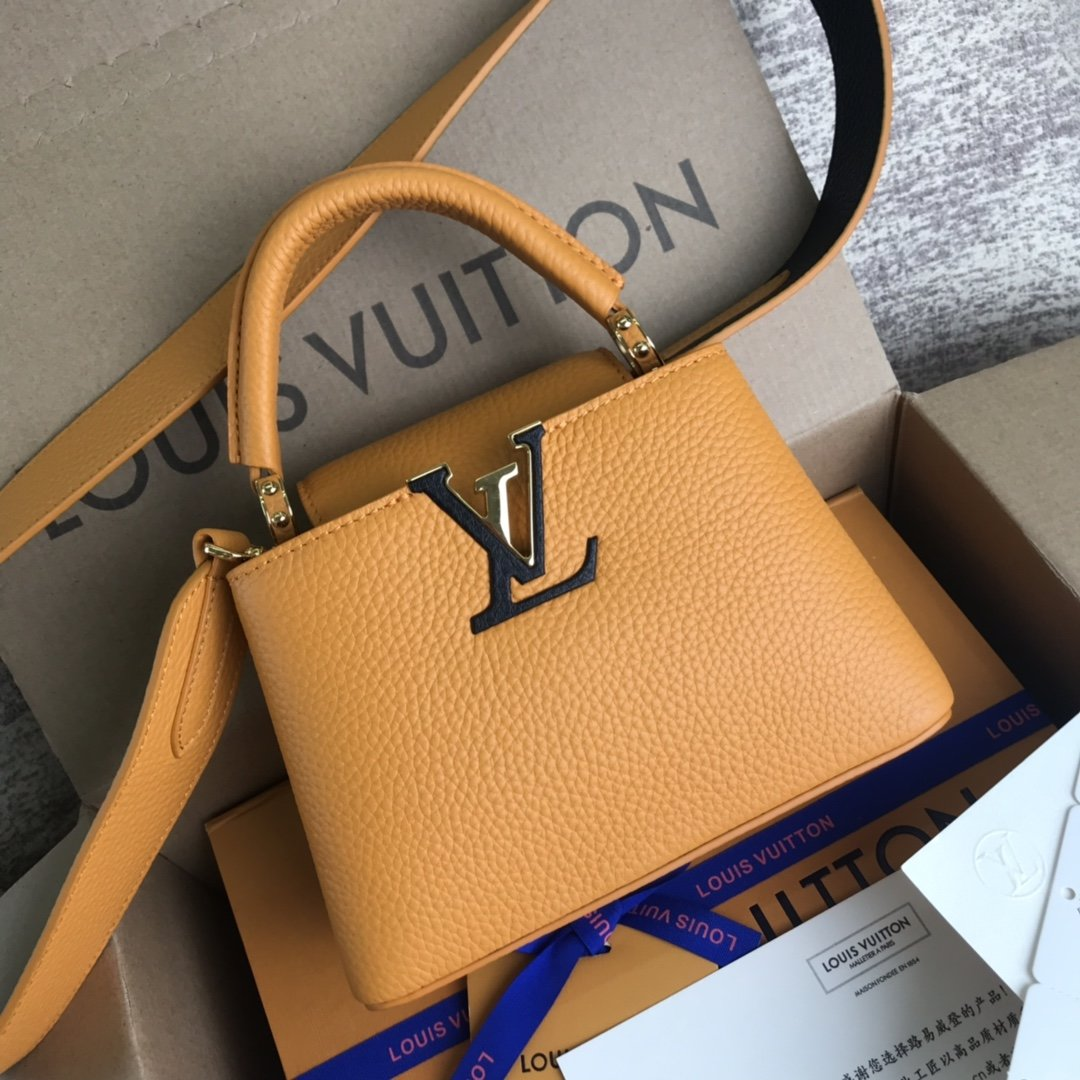 法国第一夫人高档CAPUCINES BB手袋工厂原单包包直销