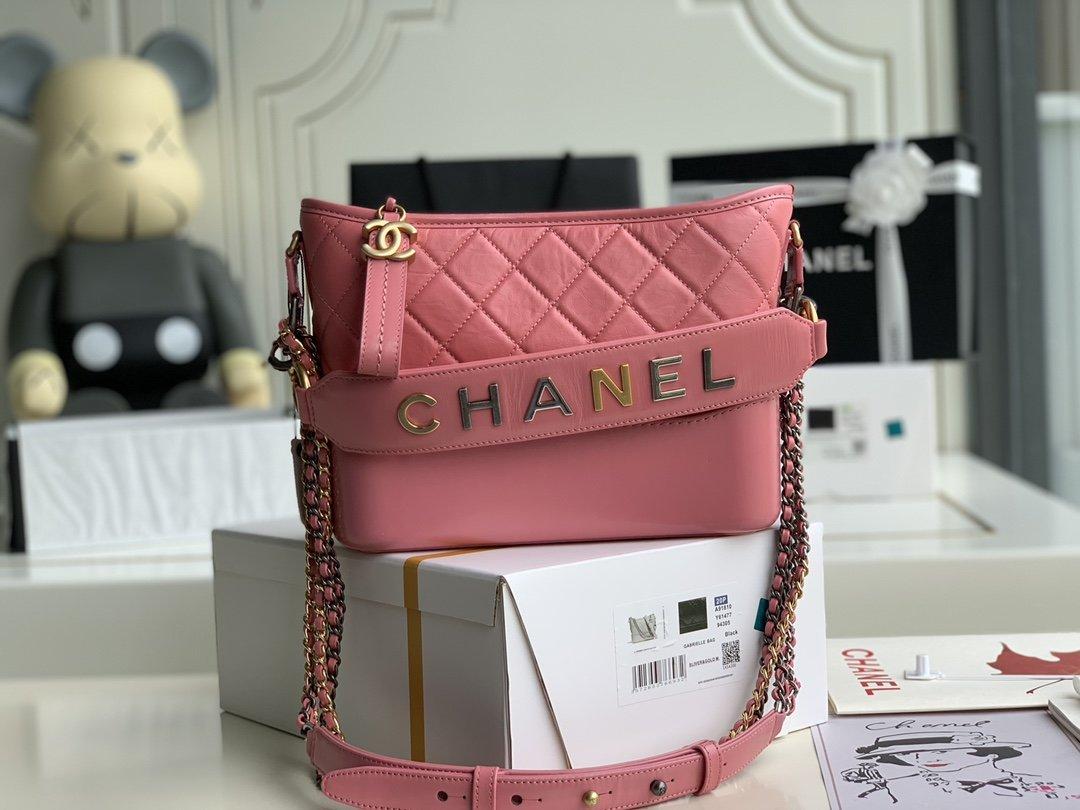 原厂皮Chanel春夏新品Gabrielle流浪包有现货