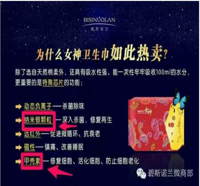2016微商热销品——碧斯诺兰女神卫生巾全国招商