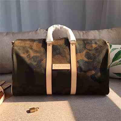 LvXSupreme2017联名迷彩系列,专柜最新款高仿奢侈品包包
