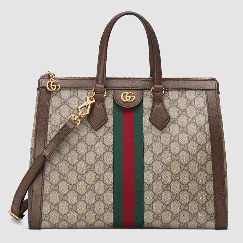 奢侈品Gucci新作Ophidia系列手袋,高仿古驰包包货源工厂放货